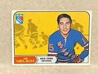 1968-69 TOPPS #70 JIM NEILSON NEW YORK RANGERS