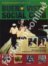 Buena Vista Social Club Ry Cooder LP Advert #1 AB