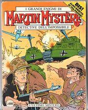 VO ITALIEN ¤ MARTIN MYSTERE n°127 BIS ¤ L'ULTIMO MISTERO ¤ 1992 BONELLI