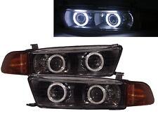 GALANT 98-05 4D/5D CCFL Dual Projector Headlight BK EUROPE V2 for Mitsubishi RHD