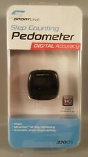 Sportline 330DS Step Pedometer New Counter Tracker Up to 1 Million Steps