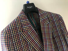 "Paul Smith Gents DB Tailored Soho Fit Jacket UK38 Chest 40"" 100% Cotton Woven"