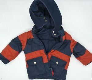 Warm Original Turn Jacket By Petit Bateau Size 3 Years 94