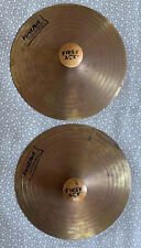 Vintage First Act Discovery Cymbals - 6-1/2� - Set of 2