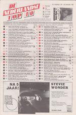 Songcharts / Hitlijst De Nederlandse Top 40 21e jaargang nr. 39 28-09-1985