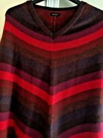NOVICA WOMENS SWEATER CAPE Alpaca Wool Sz OS S M L XL Wear W Unicorn Leggings