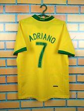 Adriano Brazil Brasil Jersey 2006 2008 Home M Shirt Nike Football Soccer
