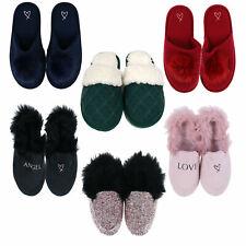 Victoria's Secret Pantuflas Desliza Casa Zapatos de Pijama Calzado Nuevo Contra