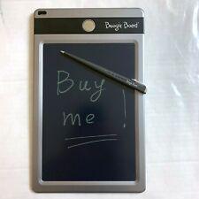 Boogie Board Jot LCD Writing Tablet Black 8.5-Inch E-Writer Pad Pen