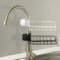 Stainless Steel Sink Hanging Storage Rack Holder Faucet Clip Kitchen Shelf Tool