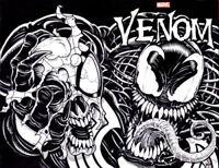 MARVEL Comics VENOM Original Art Sketch Wrap-Around Cover Ken Haeser SPIDER-MAN