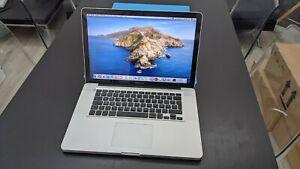 "MacBook Pro 15"" A1286 Early 2011 Catalina Core i7 - 4GB RAM - 480GB SSD"
