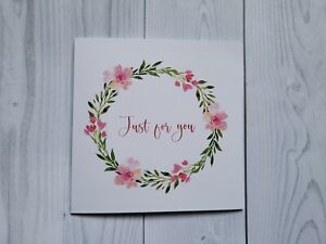 Just for You card,  With Thanks