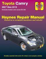 Toyota Camry and Avalon & Lexus ES 350 Haynes Repair Manual (2007 -2015)