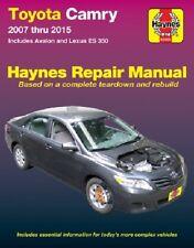 Haynes 92009 Repair Manual for Lexus ES350 07-15 Toyota Camry, Avalon 2007-15