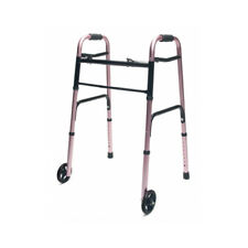 Lumex LUM716270PK-1 ColorSelect Adult Walker w/ 5'' Wheels - Pink Brand New