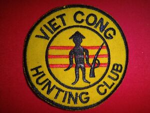 Vietnam War Patch VIETCONG HUNTING CLUB