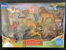 Disney The Lion King The Lion Guard Deluxe Figure Set 10 Action Figures