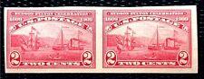 1909 US Stamp SC#373 2c imperf. pair Hudson-Fulton MNH/OG