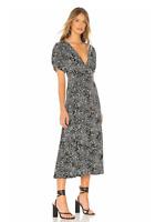 Free People Women's Black Combo Printed Dress Size 4
