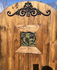 Gate Top Decoration, Gate or Door Valence, Bolt on Above Door Entry Decoration