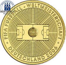 Deutschland 100 Euro Gold 2005 stgl. FIFA Fussball WM 2006 Mzz. A 1/2 Unze