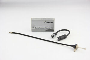 Canon Fernauslöser Cable Release Adapter T3 mit Drahtauslöser # 7012