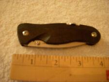 Leatherman CRATER C33X Black Locking Knife