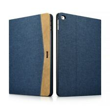 Folio Case IPAD Air 2 in Fabric and Leather Series Scholarship Blue