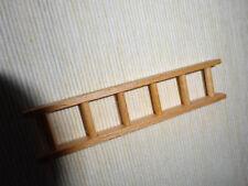 Holzleiter für Krippen mit 6 Sprossen, sehr sauber verarbeitet