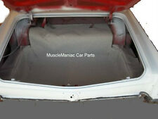 1963 Buick Lesabre & Wildcat TRUNK MAT Grey Tweed Mat on Tar/Felt  63