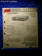 Sony Service Manual TA F445ES Amplifier (#1308)