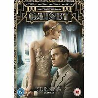 The Great Gatsby [DVD] [2013], Excellent DVD, Leonardo DiCaprio, Carey Mulligan,
