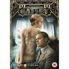 The Great Gatsby - Leonardo DiCaprio, Carey Mulligan - NEW Region 2 DVD