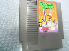 NES Nintendo, The Bugs Bunny Birthday Blowout video game