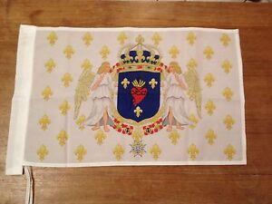 DRAPEAU   Français sacré coeur de jésus  NEUF royal