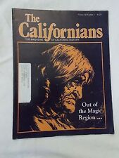 The Californians Magazine Volume 10 Number 3, Nov/Dec 1992