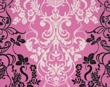 Brand New Roll Marburg Baroque Alice Whow Pink Black Textured Wallpaper 51828