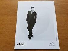 JAI 8x10 BLACK & WHITE Press Kit Photo Promo 90's DOWNTEMPO SYNTH-POP Electronic