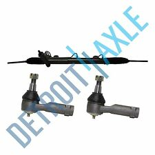 Power Steering Rack and Pinion + BOTH Outer Tie Rod Ends for 2003 - 06 Lincoln