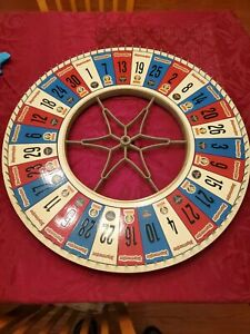 """Carnival Wheel spinner jagermeister very rare 30"""" wide large game of chance"""