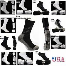 Men Women Heavy Cotton Socks Lot Work Boots Hiking Athletic Thick Unisex