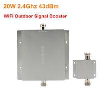 Sunhans 20W Wireless Network WiFi Outdoor Signal Booster 2.4Ghz 43dBm Amplifier