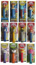 Collectible CHARACTER PEZ HEADS Candy Dispenser Kids Disney (Sweets Out of Date)