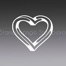"4 "" HEART ESCHER Vinyl Decal Sticker Die Cut LOVE iphone apple"