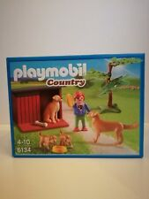 Playmobil 6134 *NEW* - Country Boy with Dogs in dog house (MISB, NRFB, OVP)