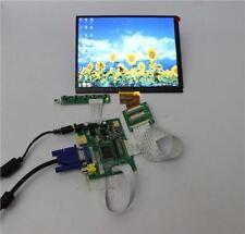 HDMI+VGA+2AV+REAR View MONITORS+8INCH 1027*768 HJ080IA-01E TFT LCD Display as