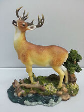 New Stag Deer Resin Sculptures Home Decoration Ornament Statue Figure