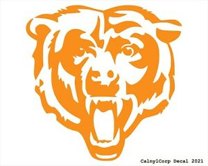 Chicago Bears 2nd Vinyl Sticker Decal (BUY 2 GET 1 FREE)-Multi-Colors Option