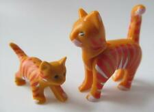 Playmobil Stripy ginger cat & kitten NEW Farm animals/Dollshouse pets